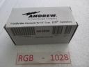 "RGB - 1028 COMSCOPE 1/2"" DIN MALE 540 EZDM"